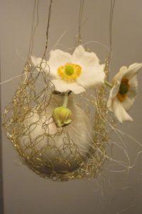 weihnachtskugel,vase, netz