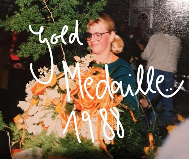 Florist Anekdoten               1988  Goldmedaille