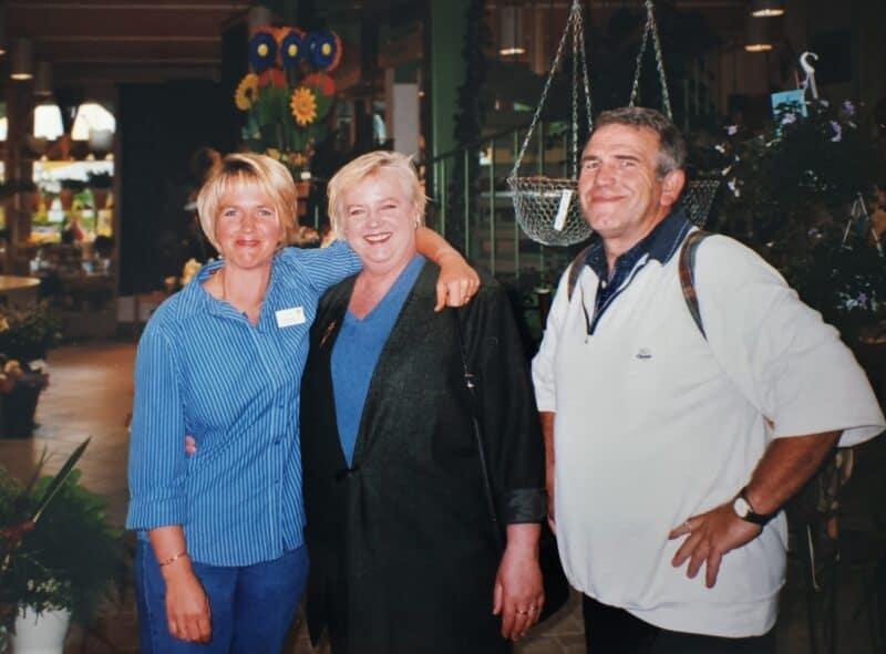 Marion, Ria und Norbert Potthast