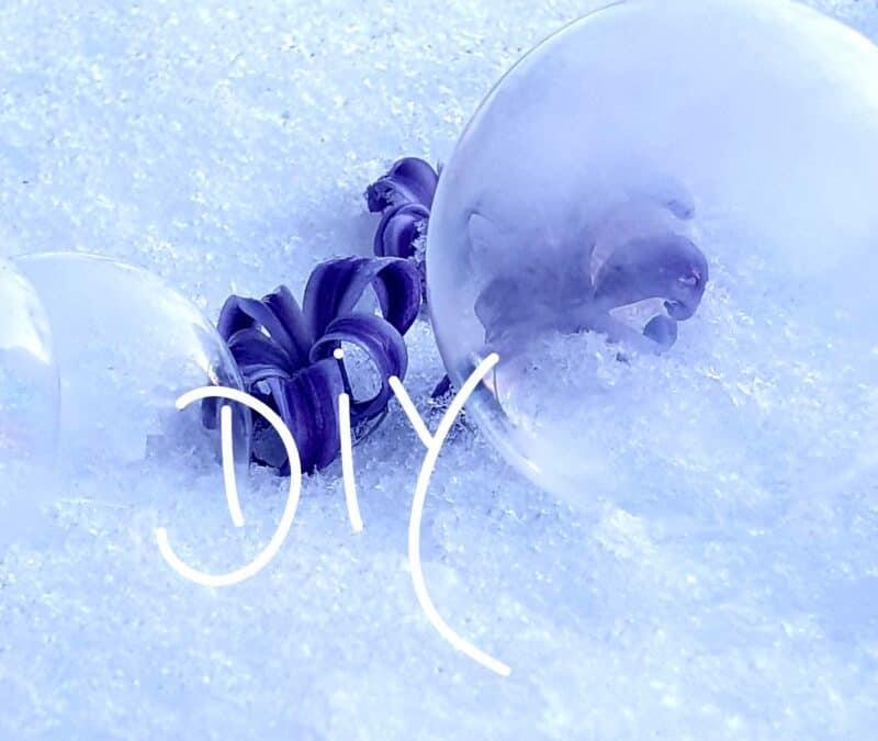 Seifenblasen Wintertraum